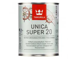 Tikkurila Unica Super 20 / Тиккурила Уника Супер 20 яхтный лак полуматовый